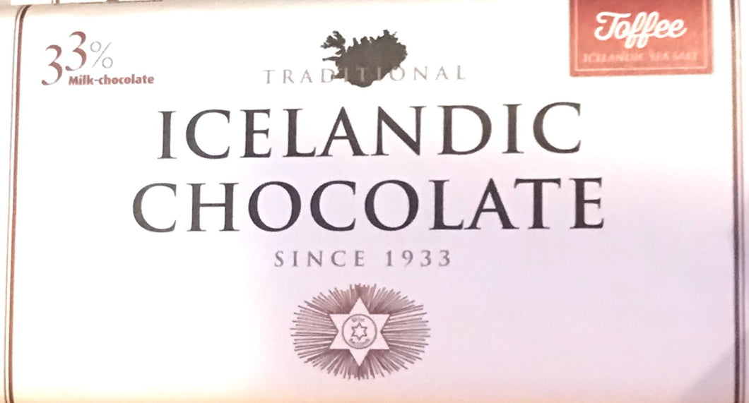 Icelandic Chocolate with Toffee