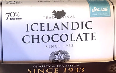 Icelandic Dark Chocolate with Sea Salt
