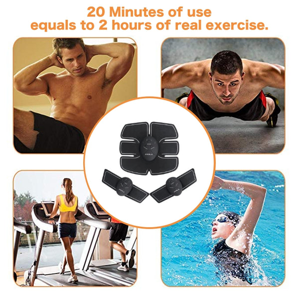 Abs And Arms Muscle Stimulator Instead Of Exercise