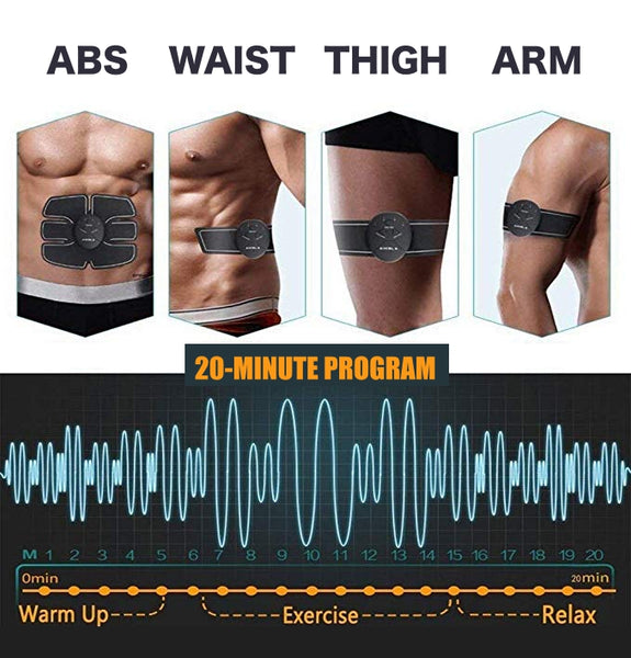 Levels Of The Abs And Arms Muscle Stimulator