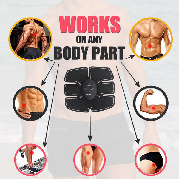 Muscle Stimulator For Abs, Arms, And Legs