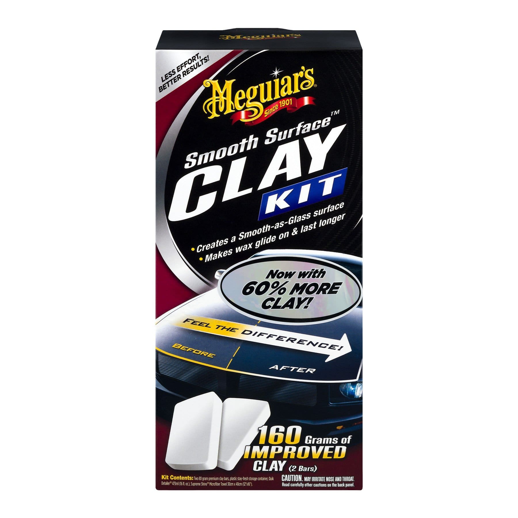 Meguiar's SMOOTH SURFACE CLAY KIT - UltimateCare - Protect Your Investment