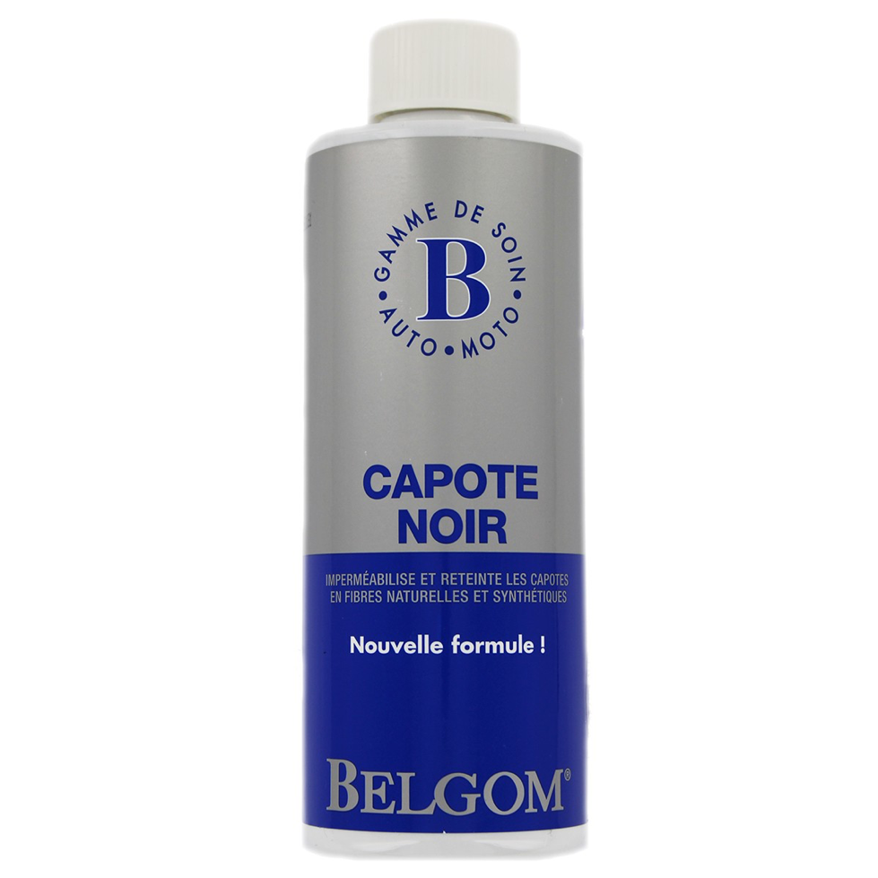 Belgom Capote Noir - UltimateCare - Protect Your Investment