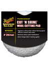 Meguiar's Cut N Shine Wool Cutting Pad - UltimateCare - Protect Your Investment