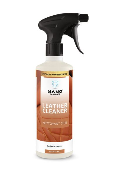 Nano Carapace Nettoyant Cuir  – Leather Cleaner Spray - UltimateCare - Protect Your Investment