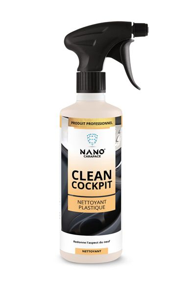 Nano Carapace Nettoyant Plastique – Clean Cockpit Spray - UltimateCare - Protect Your Investment