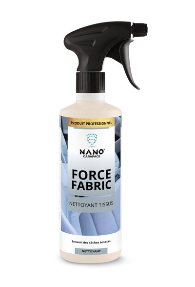 Nano Carapace Nettoyant Tissus – Force Fabric Spray - UltimateCare - Protect Your Investment