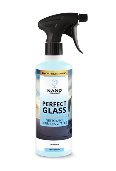 Nano Carapace Nettoyant Surfaces Vitrées – Perfect Glass Spray - UltimateCare - Protect Your Investment