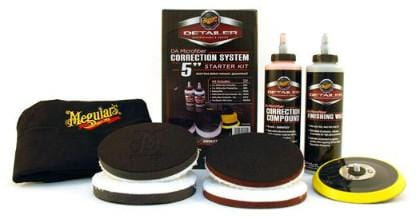 "Meguiar's DA MICROFIBER CORRECTION SYSTEM 5"" STARTER KIT - UltimateCare - Protect Your Investment"