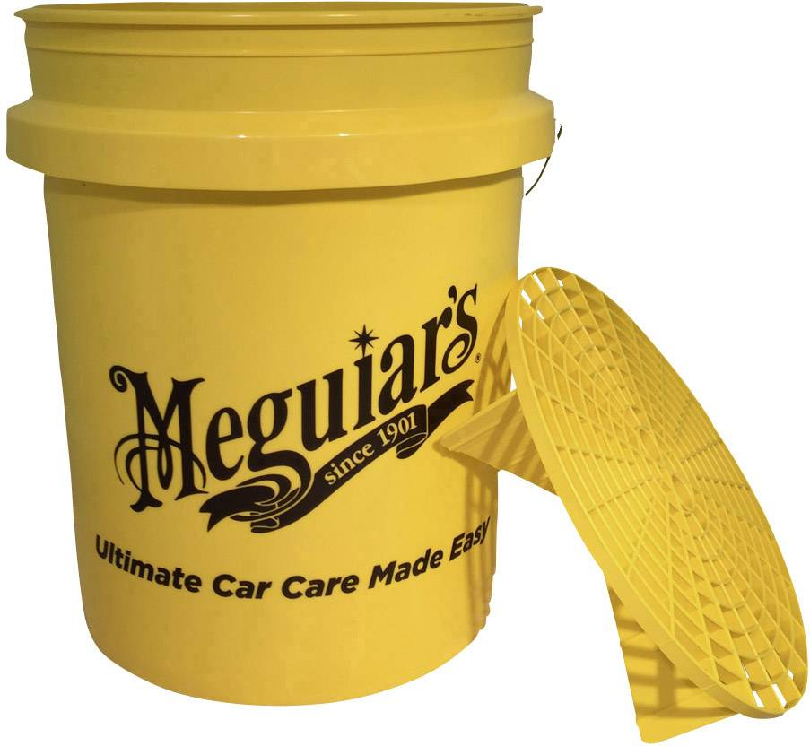 Meguiar's - Grit Guard + Bucket - UltimateCare - Protect Your Investment