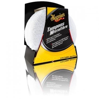 Meguiar's TAMPON APPLICATEUR MICROFIBRE (X2) - UltimateCare - Protect Your Investment