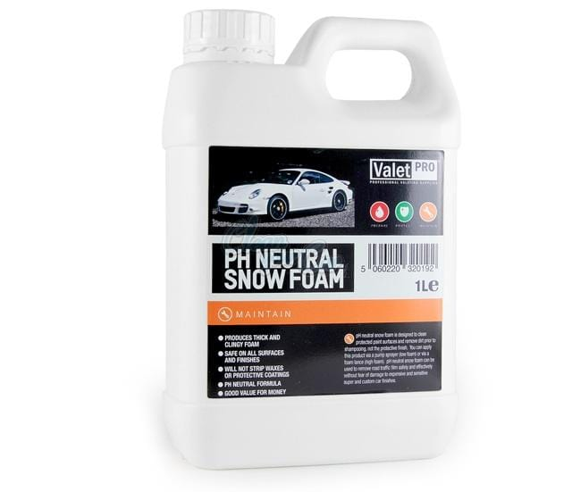Valet Pro Ph Neutral Snow Foam - UltimateCare - Protect Your Investment
