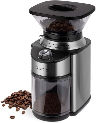 Sboly Conical Burr Coffee Grinder Burr Mill