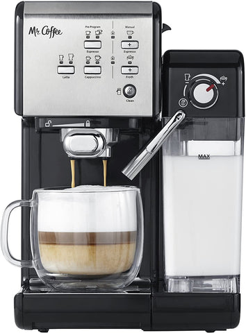 Mr. Coffee Machine One-Touch CoffeeHouse