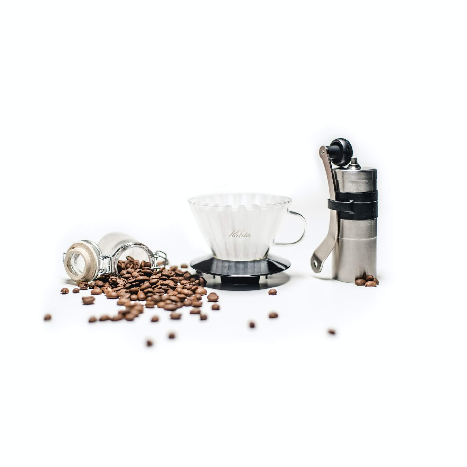how to clean a manual grinder