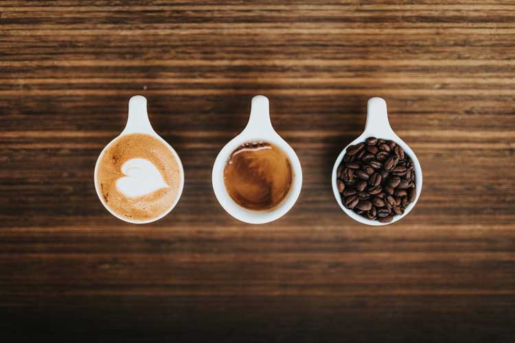 how much caffeine in one cup of coffee