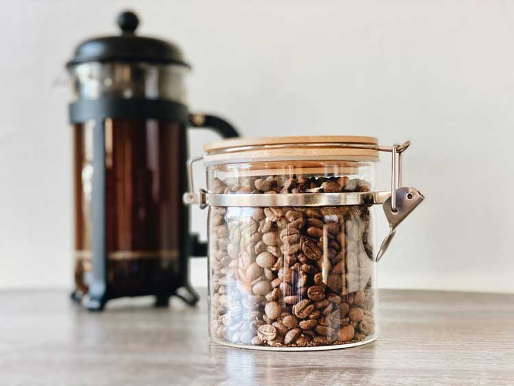 brewing with a french press