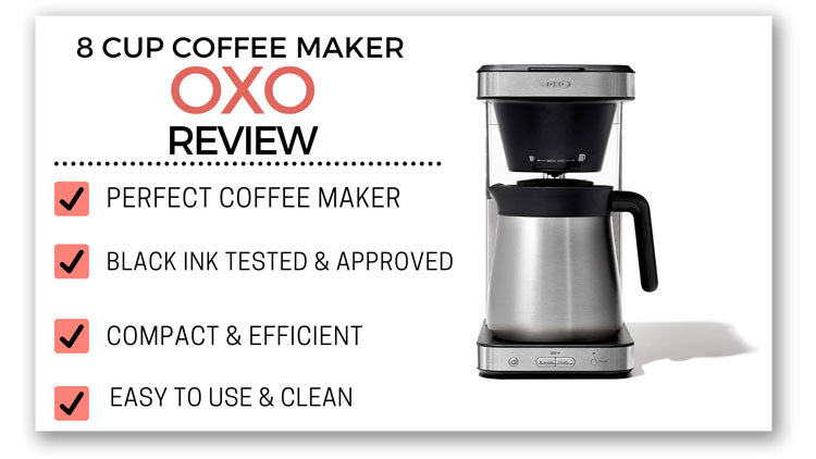 oxo coffee maker review