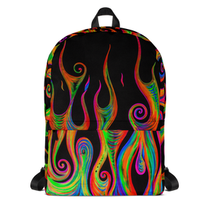 Flames Backpack