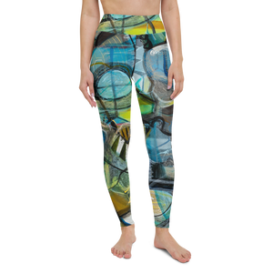 Into The Hive Yoga Leggings