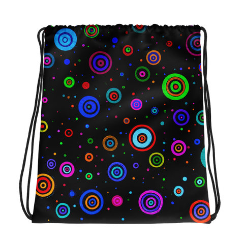 Space Dots Drawstring bag