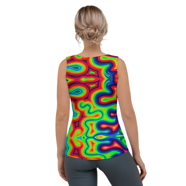 Swirls Tank Top