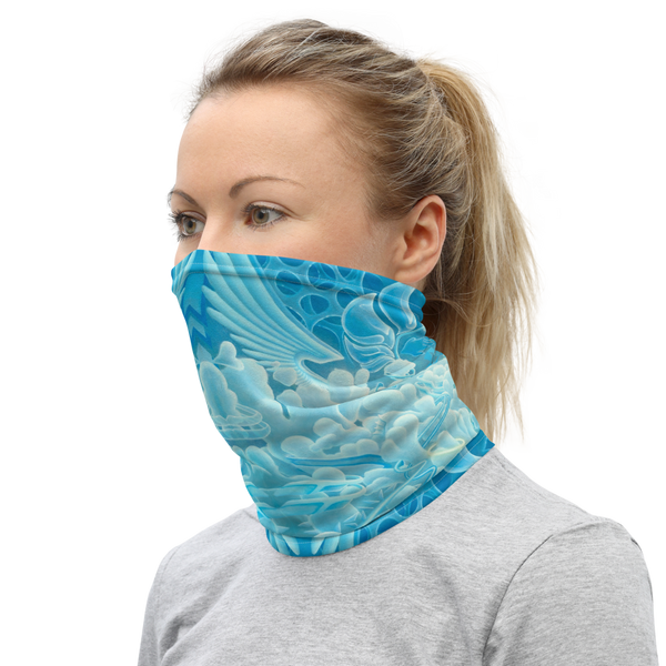 Interdimensional Angel Food Neck Gaiter