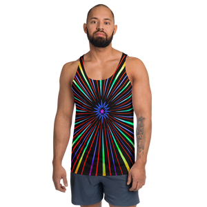 Sunburst Unisex Tank Top