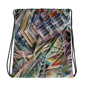 Castles of Color Drawstring bag