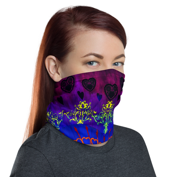 Heart Locket Neck Gaiter