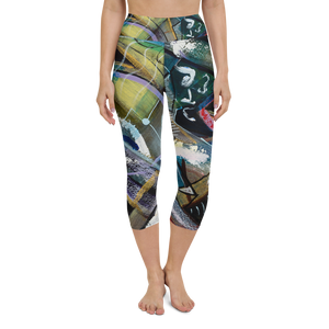 Rooster Yoga Capri Leggings