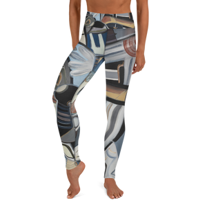 Ancient Aliens Yoga Leggings