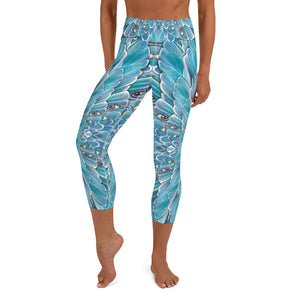 Dragonfly Dreaming Capri Leggings
