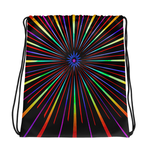 Sunburst Drawstring bag