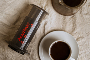 AeroPress Coffee Maker- (The better coffee press)