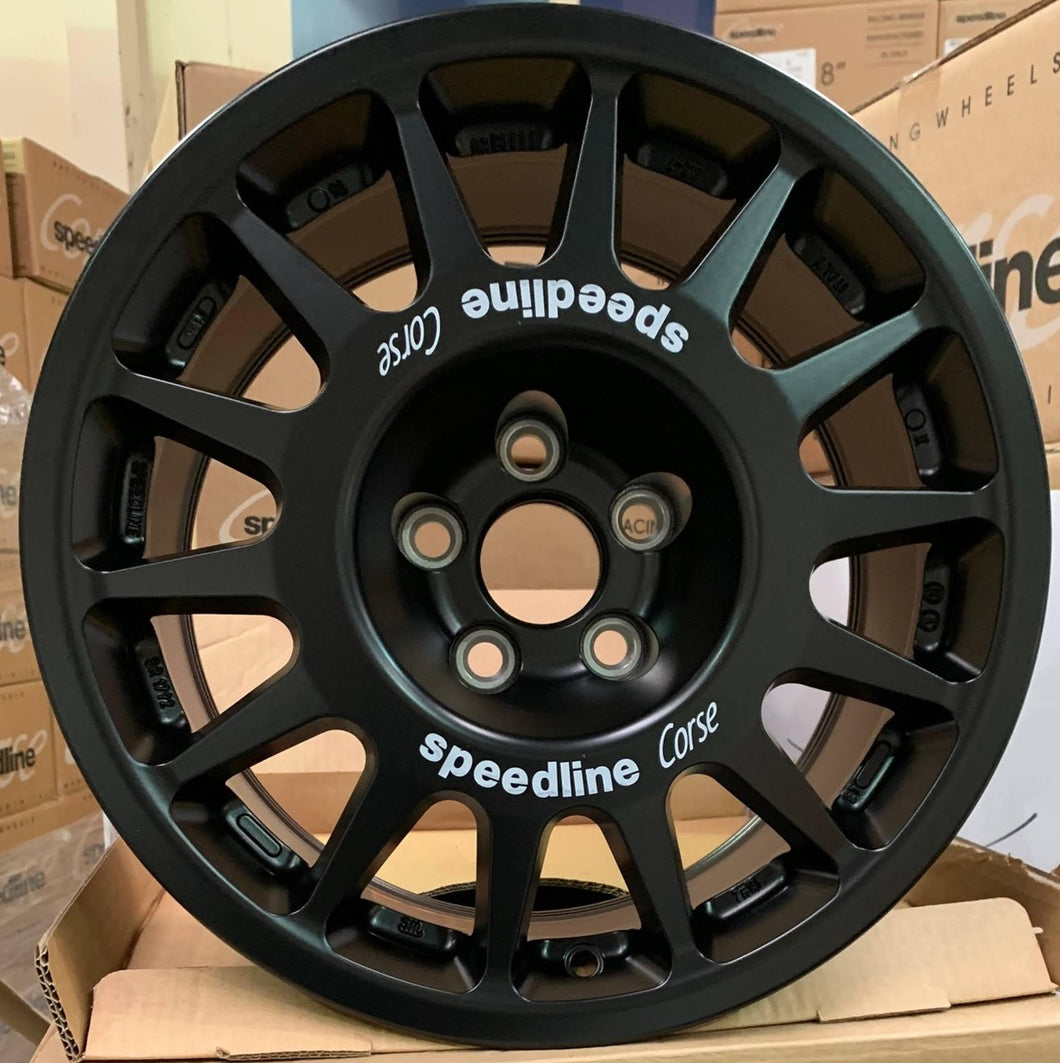 **NEW** Speedline 2118 Wheel - 7x15, 5x100, ET15 Subaru Fitment