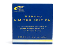 Load image into Gallery viewer, Troféu Pro.03-2000MC Subaru Impreza GC WRC2000 Rally of Great Britain 2000 Winner