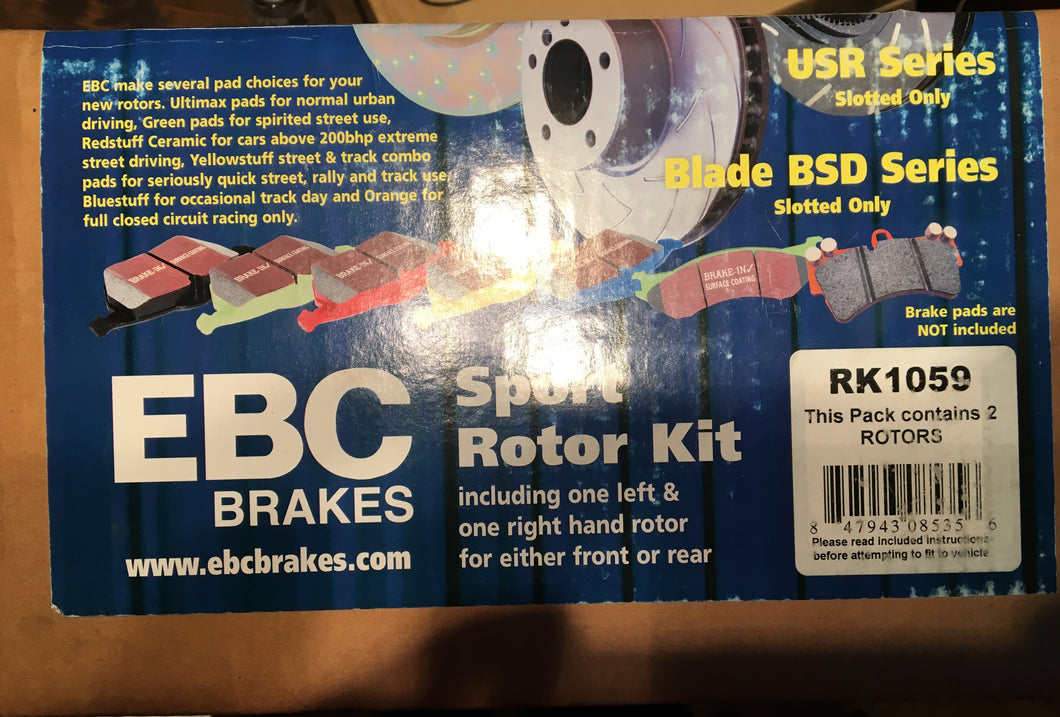 EBC Brakes Subaru R180 Gravel Spec Rear Brake Rotors