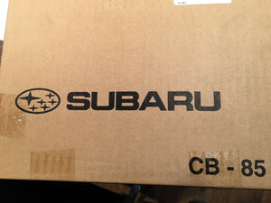 Subaru OE Group N Gravel Spec Front Brake Rotor Set