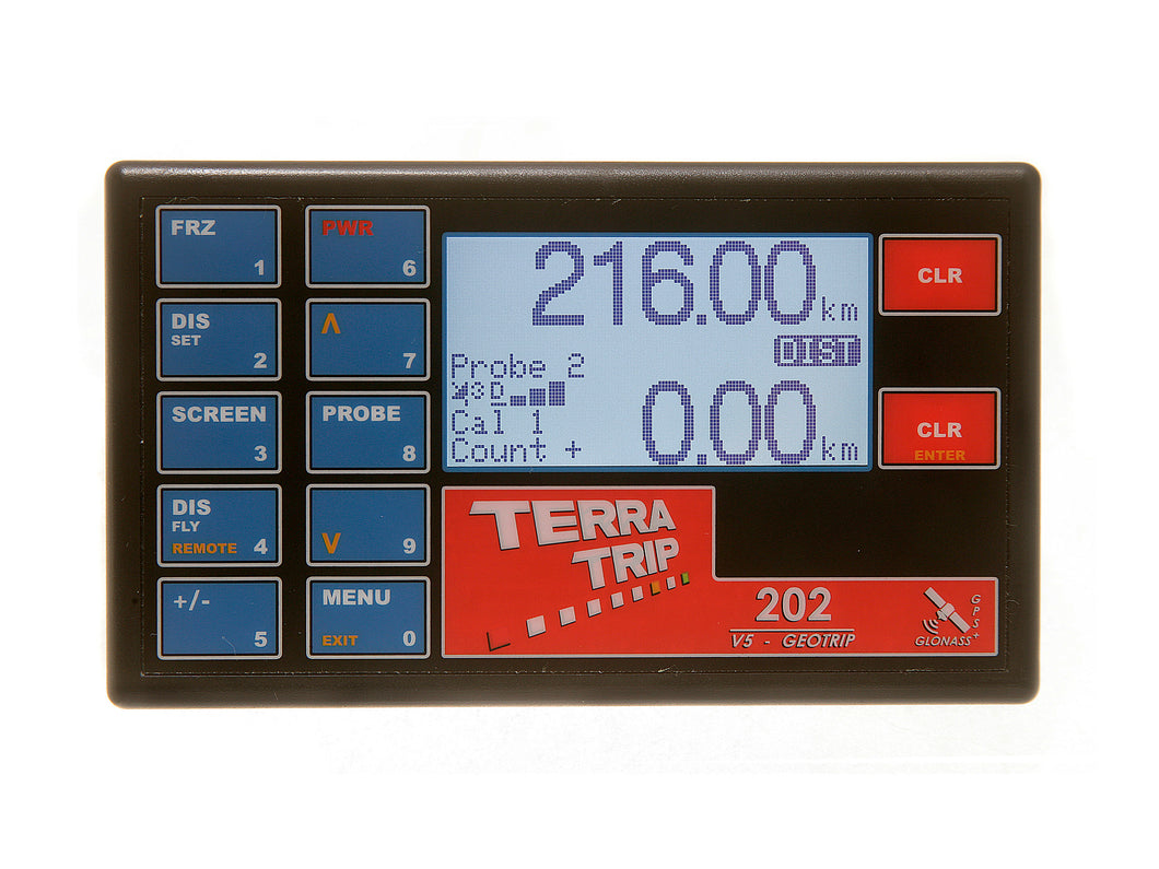 TerraTrip T002G 202 GeoTrip V5 Rally Car Tripmeter