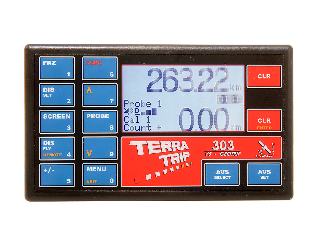 TerraTrip T003G 303 GeoTrip V5 Rally Car Tripmeter