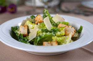 Turkey Caesar Salad with house-made dressing & our own croutons.