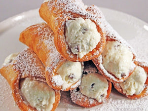 Cannoli - homemade & fresh stuffed to order!