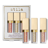 Stila Iridescent - Glitter & Glow Duo Chrome Liquid Eyeshadow Set