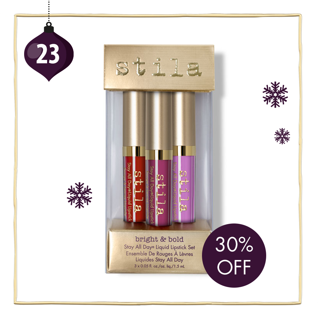 Day 23 of the Stila 2016 Advent Calendar