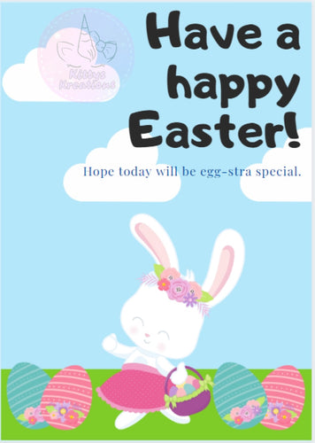 Have A Happy Easter Card Printable