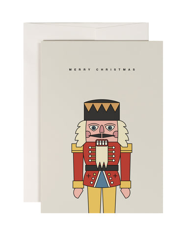Nutcracker Christmas Card - Loola Loves UK