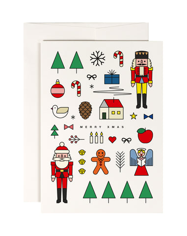 Xmas Mashup Card - Loola Loves UK