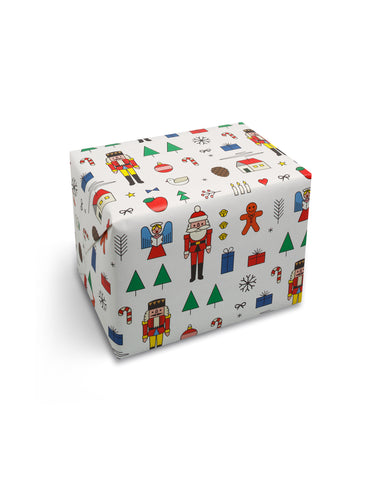 Xmas Mashup Wrapping Paper - Loola Loves UK