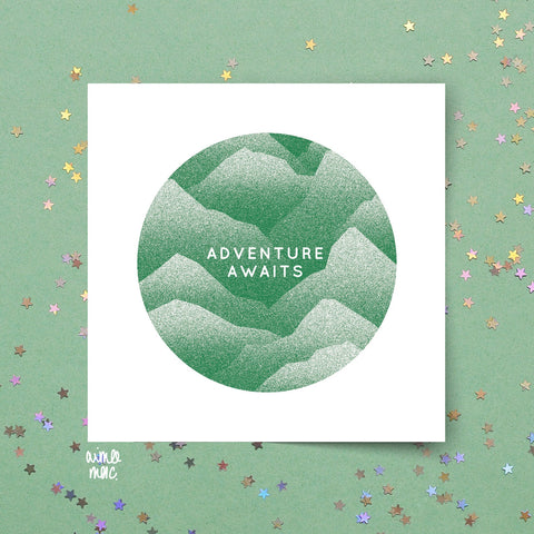 Adventure Awaits Card - Loola Loves UK